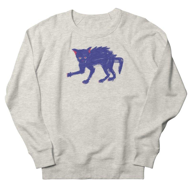 Expressionist Cat Men's Sweatshirt by Nate Christenson