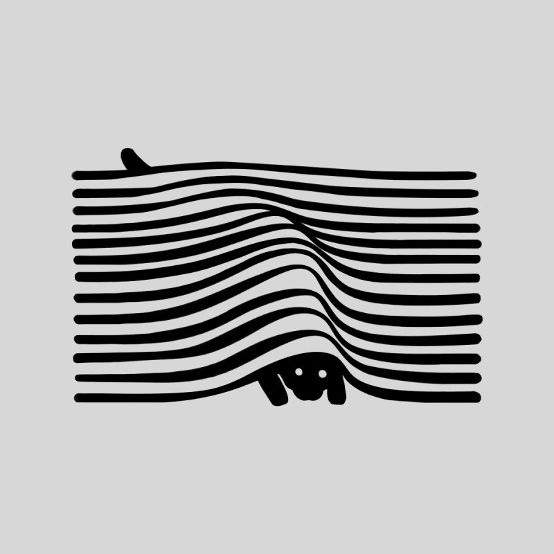 Op Art Cat Accessories Phone Case by Nate Christenson