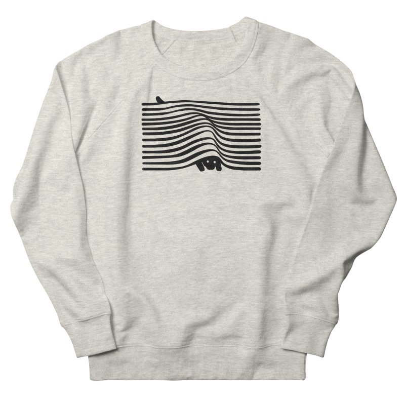 Op Art Cat Men's Sweatshirt by Nate Christenson