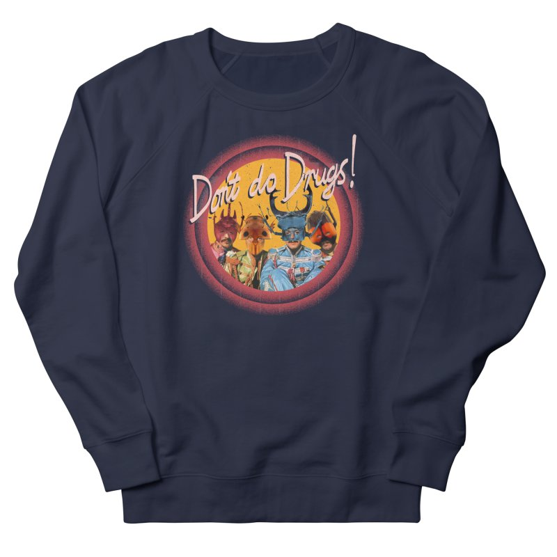 Beetle Tunes Women's French Terry Sweatshirt by Nate Christenson
