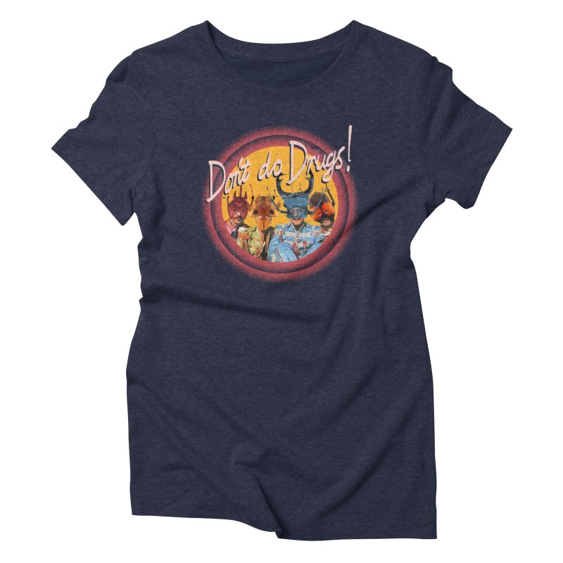 Beetle Tunes Women's Triblend T-Shirt by Nate Christenson
