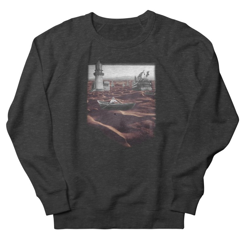 Across the Sea of Sand Men's French Terry Sweatshirt by Nate Christenson