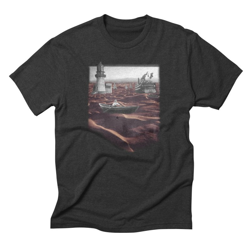 Across the Sea of Sand Men's Triblend T-shirt by Nate Christenson