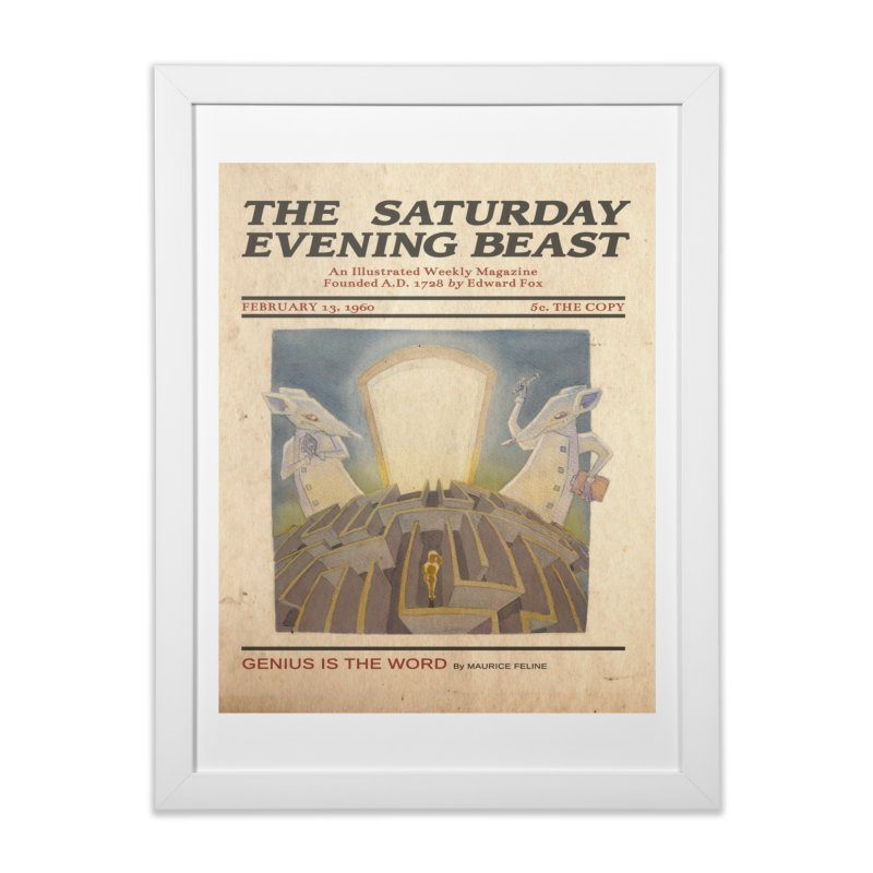 Lab Rats Home Framed Fine Art Print by Nate Christenson
