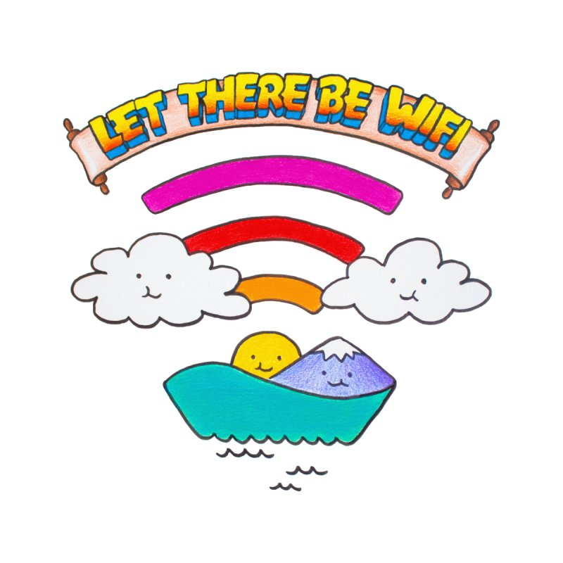 Let There Be Wifi by Nate Christenson