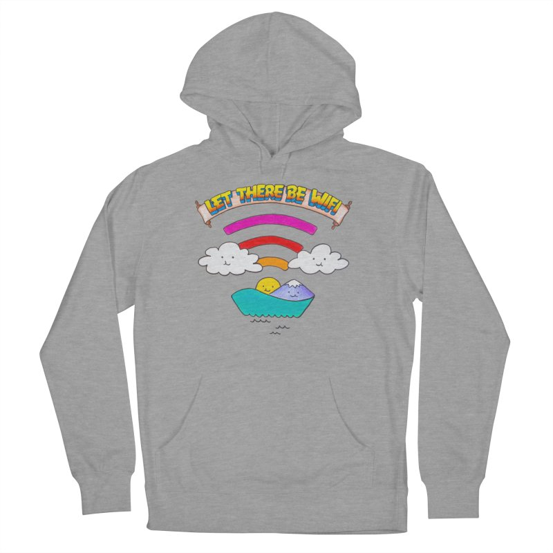 Let There Be Wifi Men's Pullover Hoody by Nate Christenson