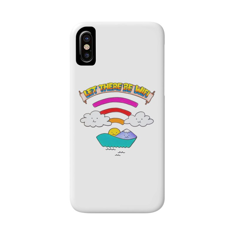 Let There Be Wifi Accessories Phone Case by Nate Christenson
