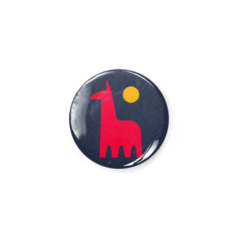 Llamagonia Accessories Button by Nate Christenson