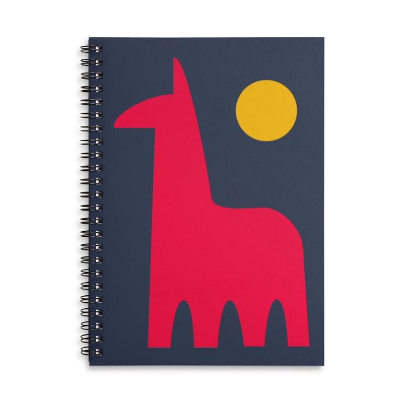 Llamagonia Accessories Notebook by Nate Christenson