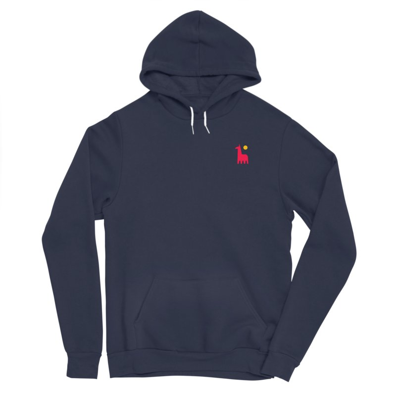 Llamagonia Men's Sponge Fleece Pullover Hoody by Nate Christenson