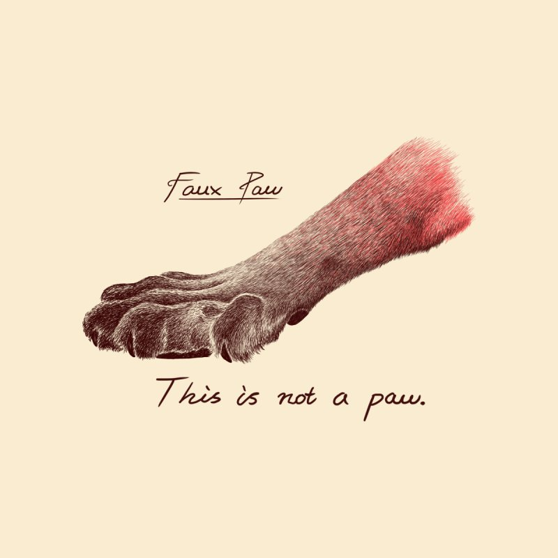 Faux Paw Home Fine Art Print by Nate Christenson