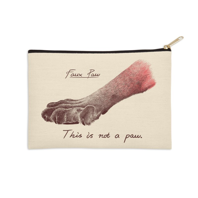 Faux Paw Accessories Zip Pouch by Nate Christenson