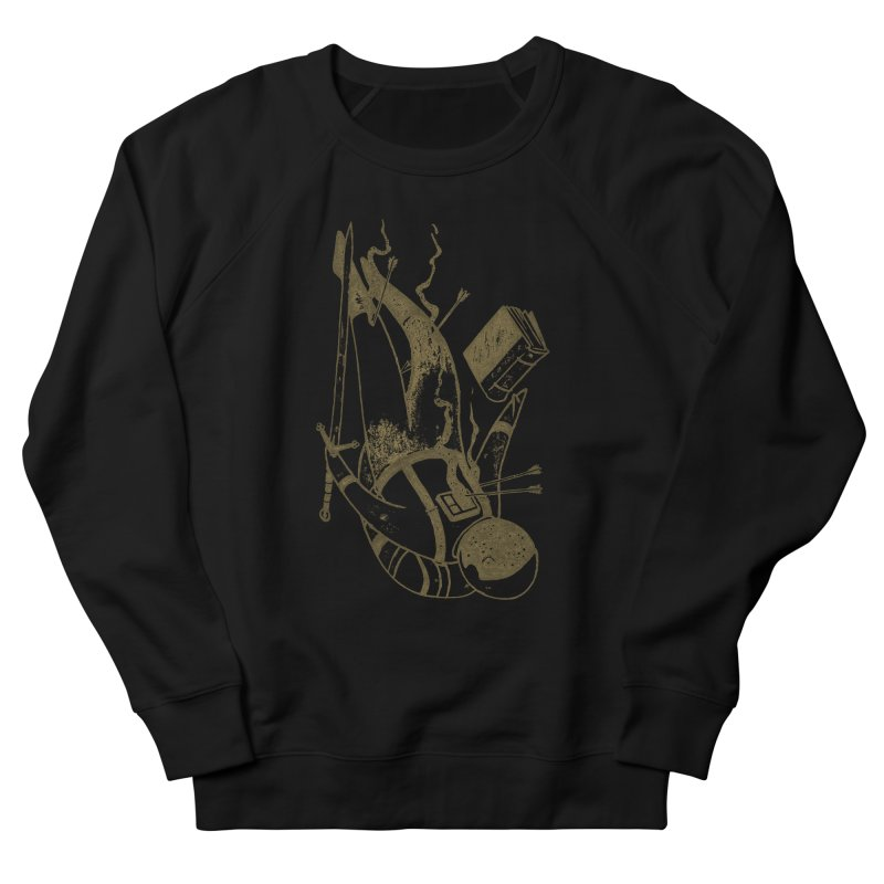 Space Pilgrim Women's French Terry Sweatshirt by Nate Christenson