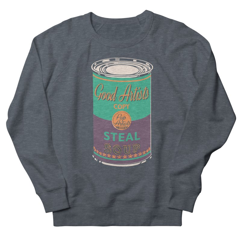 The Uncanny Truth Men's French Terry Sweatshirt by Nate Christenson