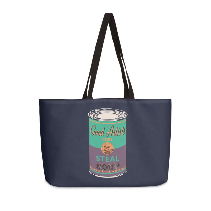 The Uncanny Truth Accessories Weekender Bag Bag by Nate Christenson