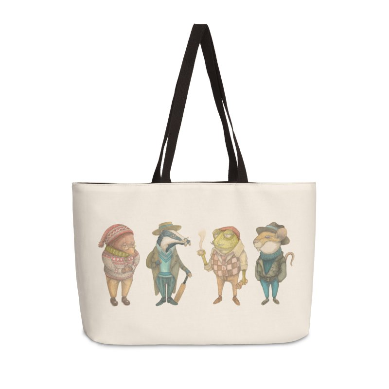 Wind in the Willows Accessories Weekender Bag Bag by Nate Christenson