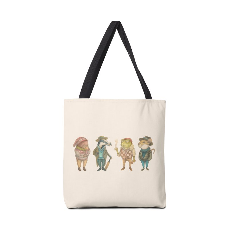 Wind in the Willows Accessories Bag by Nate Christenson