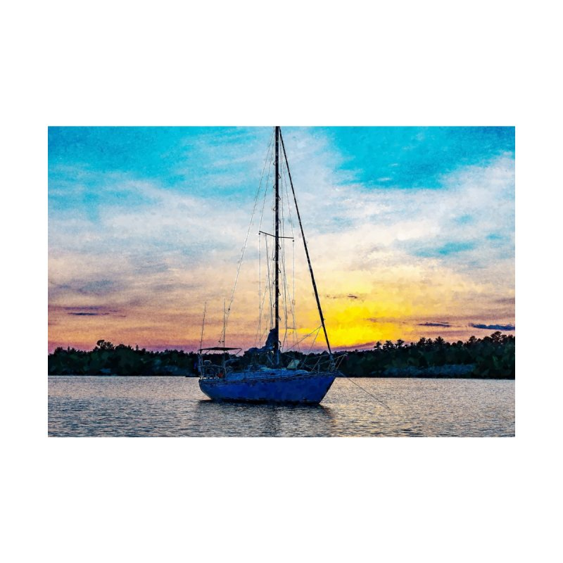Sailboat Sunrise by Nate Hart Studios Artist Shop