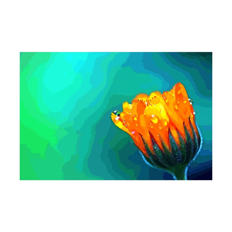 Flower Painting  by Nate Hart Studios Artist Shop