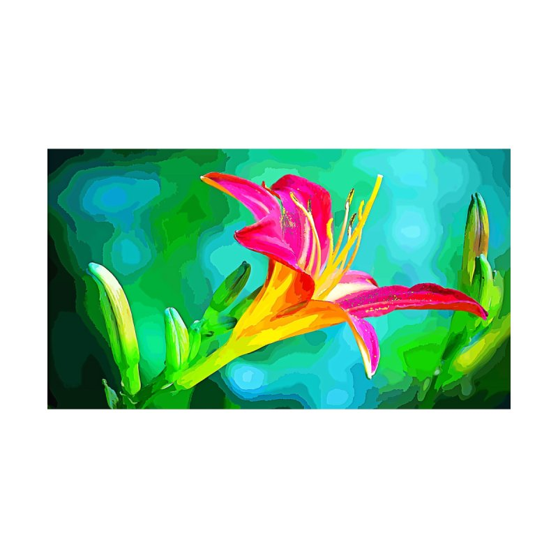 Flower Painting Two by Nate Hart Studios Artist Shop
