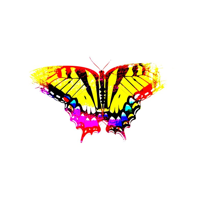 Yellow Butterfly by Nate Hart Studios Artist Shop