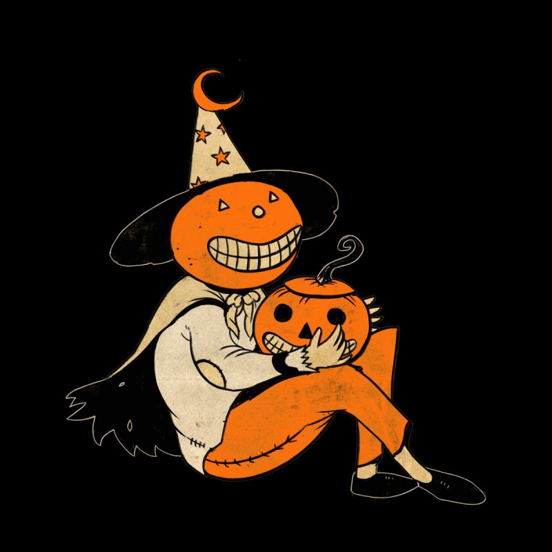 Pumpkin Witch by Nate Hillyer