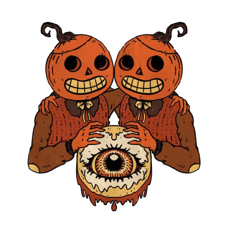 Pumpkin Twins by Nate Hillyer