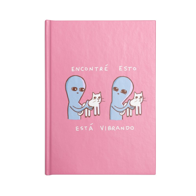 STRANGE PLANET SPECIAL PRODUCT: VIBRANDO Accessories Blank Journal Notebook by Nathan W Pyle