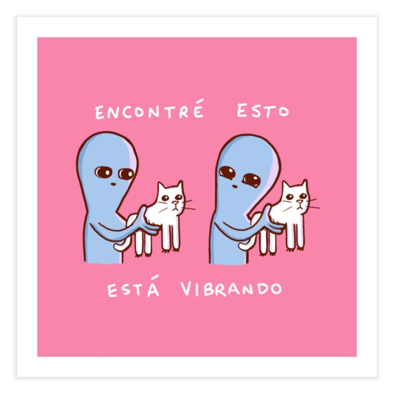 STRANGE PLANET SPECIAL PRODUCT: VIBRANDO Home Fine Art Print by Nathan W Pyle
