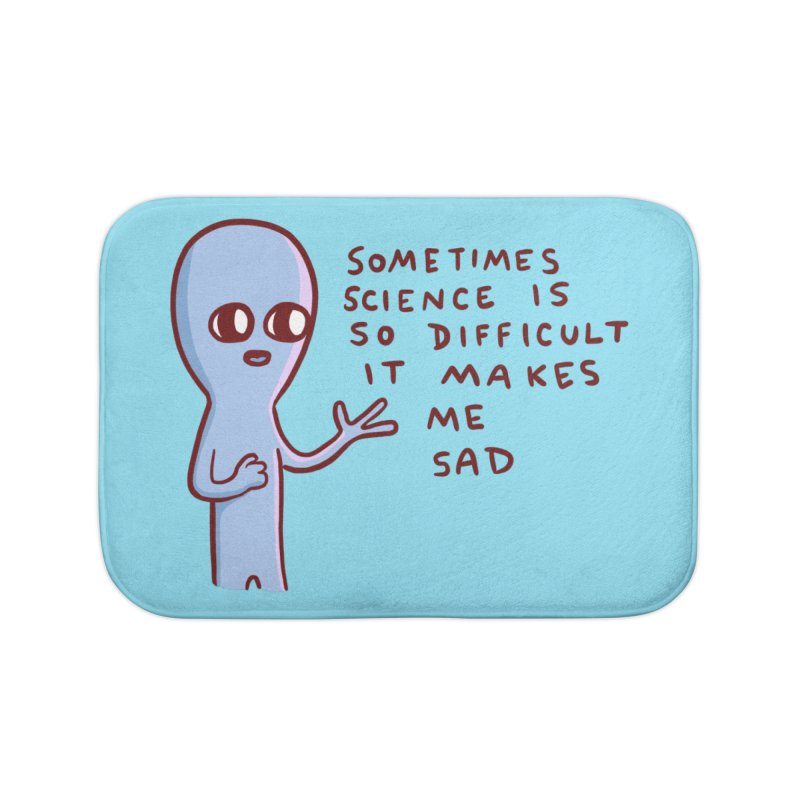 STRANGE PLANET SPECIAL PRODUCT: SCIENCE Home Bath Mat by Nathan W Pyle