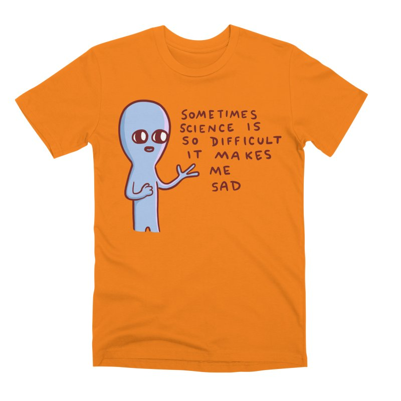 STRANGE PLANET SPECIAL PRODUCT: SCIENCE Men's T-Shirt by Nathan W Pyle