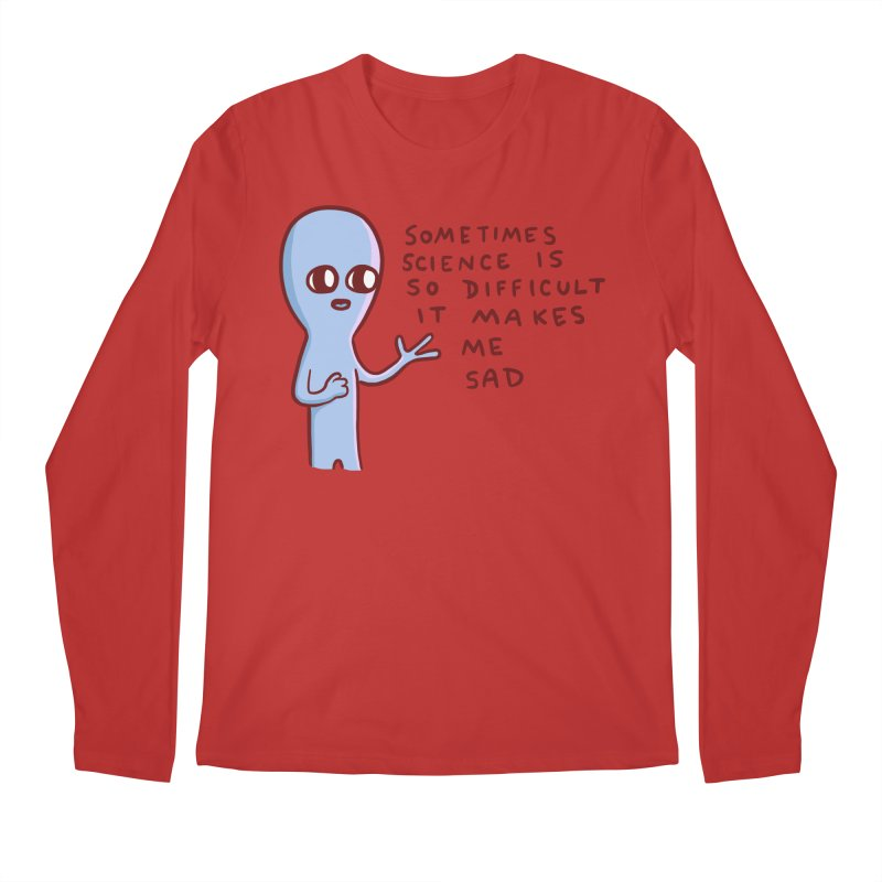 STRANGE PLANET SPECIAL PRODUCT: SCIENCE Men's Longsleeve T-Shirt by Nathan W Pyle