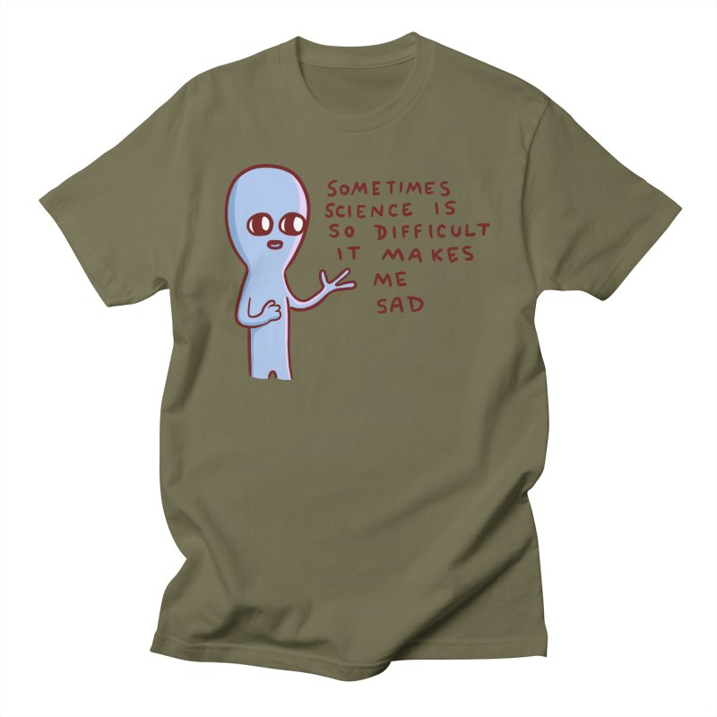STRANGE PLANET SPECIAL PRODUCT: SCIENCE Men's T-Shirt by Nathan W Pyle Shop | Strange Planet Store | Thread