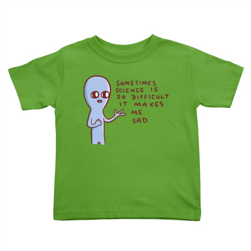 STRANGE PLANET SPECIAL PRODUCT: SCIENCE Kids Toddler T-Shirt by Nathan W Pyle