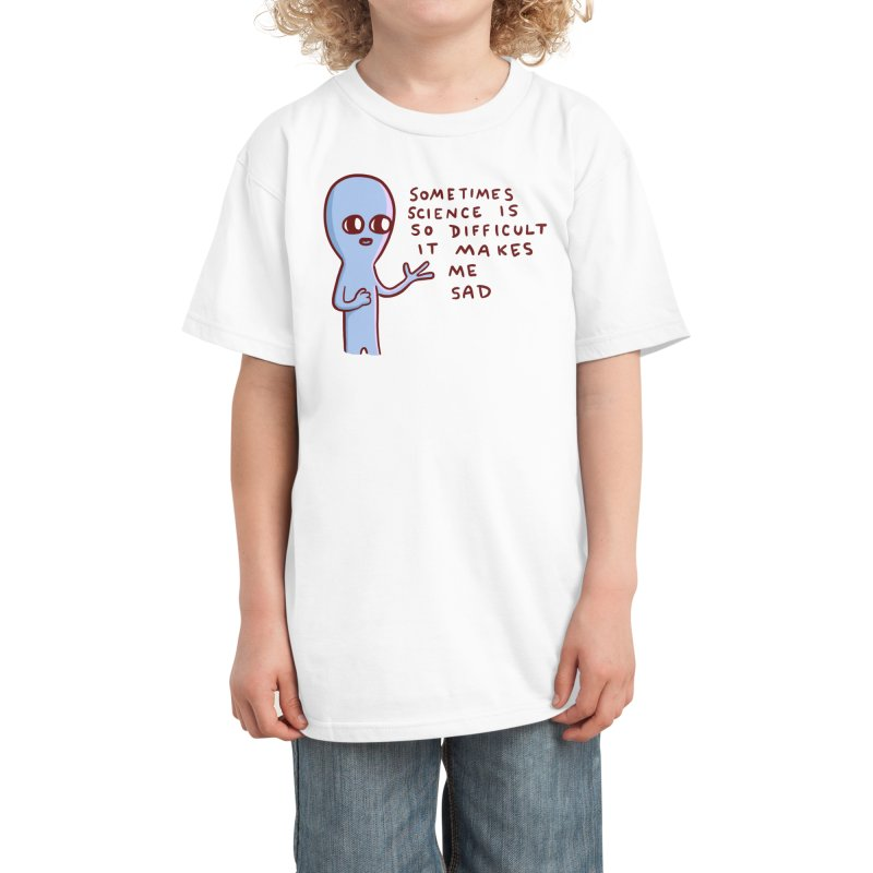 STRANGE PLANET SPECIAL PRODUCT: SCIENCE Kids T-Shirt by Nathan W Pyle Shop | Strange Planet Store | Thread