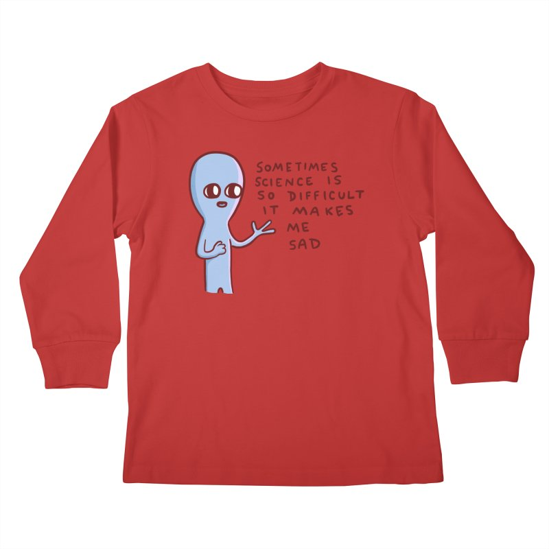 STRANGE PLANET SPECIAL PRODUCT: SCIENCE Kids Longsleeve T-Shirt by Nathan W Pyle