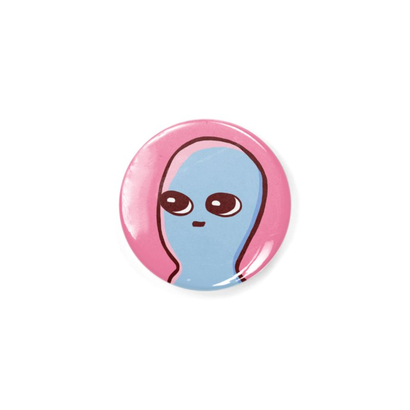 STRANGE PLANET SPECIAL PRODUCT: CENTERED ICON Accessories Button by Nathan W Pyle