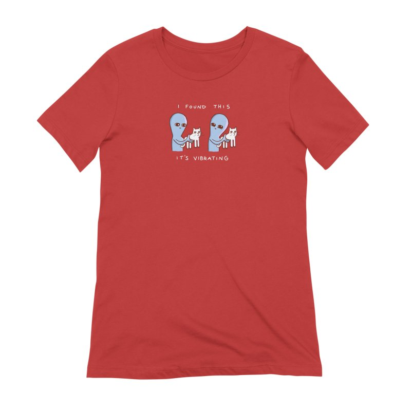 STRANGE PLANET SPECIAL PRODUCT: VIBRATING (Smaller) Women's Extra Soft T-Shirt by Nathan W Pyle