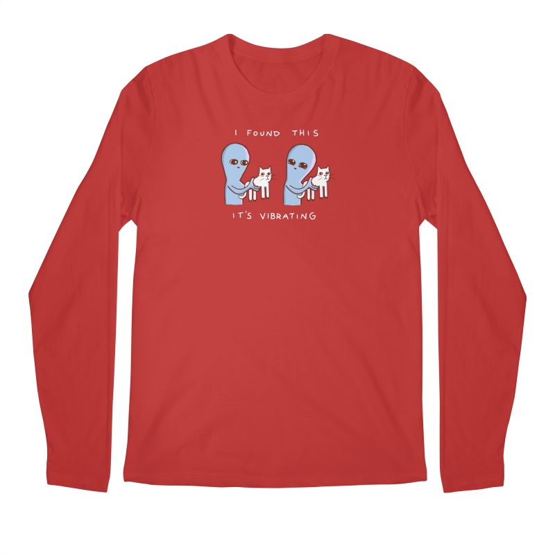 STRANGE PLANET SPECIAL PRODUCT: VIBRATING (Smaller) Men's Regular Longsleeve T-Shirt by Nathan W Pyle