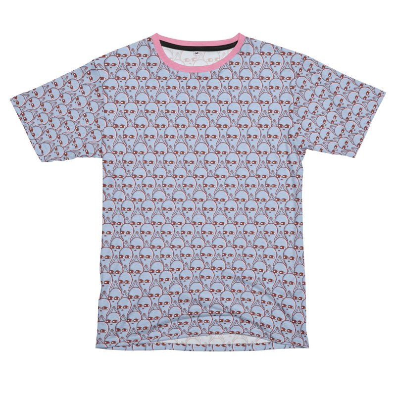 STRANGE PLANET SPECIAL PRODUCT: AND YET Men's French Terry T-Shirt Cut & Sew by Nathan W Pyle