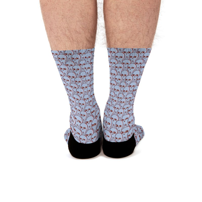 STRANGE PLANET SPECIAL PRODUCT: AND YET Men's Socks by Nathan W Pyle
