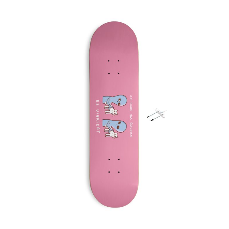 STRANGE PLANET SPECIAL PRODUCT: VIBRATING IN GERMAN Accessories Skateboard by Nathan W Pyle