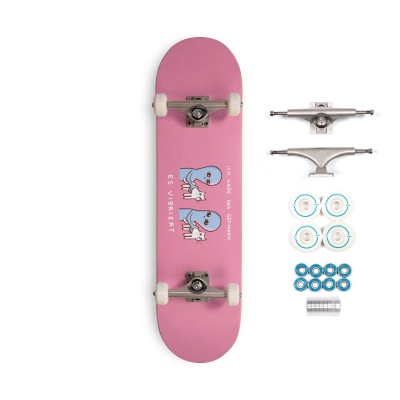STRANGE PLANET SPECIAL PRODUCT: VIBRATING IN GERMAN Accessories Skateboard by Nathan W Pyle Shop   Strange Planet Store   Thread