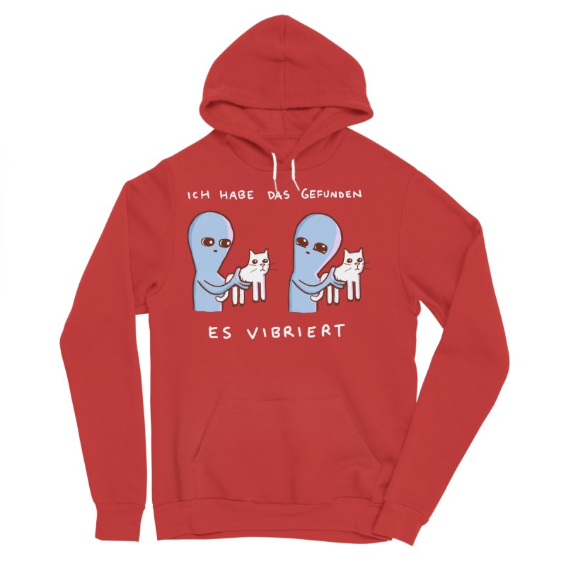STRANGE PLANET SPECIAL PRODUCT: VIBRATING IN GERMAN Men's Pullover Hoody by Nathan W Pyle