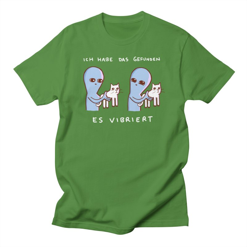 STRANGE PLANET SPECIAL PRODUCT: VIBRATING IN GERMAN Women's Regular Unisex T-Shirt by Nathan W Pyle