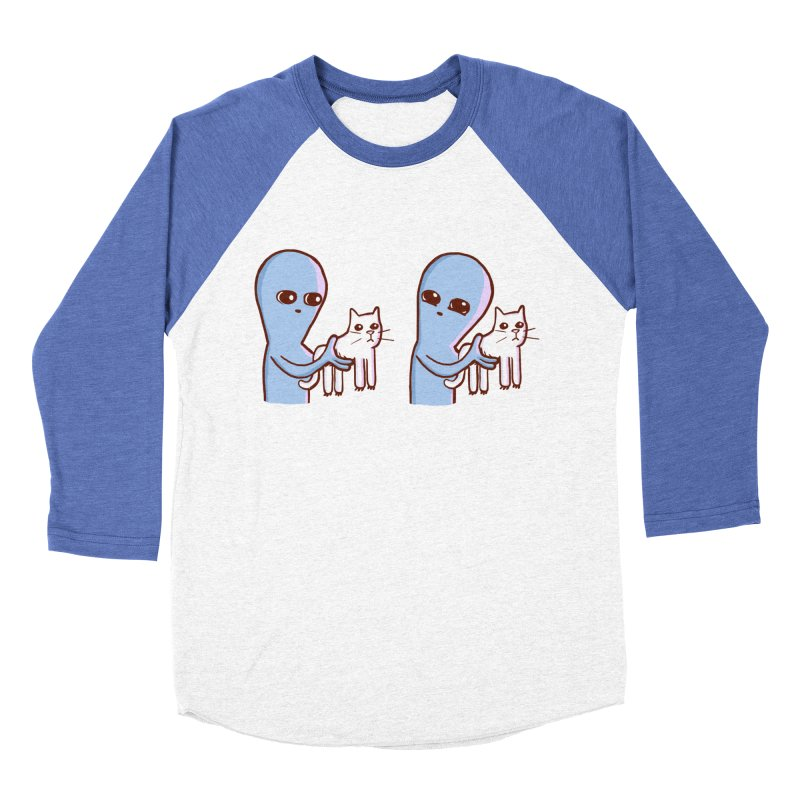 STRANGE PLANET SPECIAL PRODUCT: VIBRATING IN GERMAN Women's Baseball Triblend Longsleeve T-Shirt by Nathan W Pyle