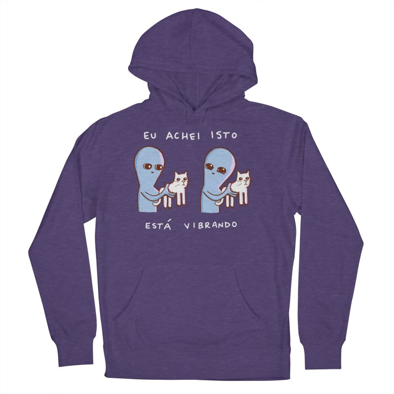 STRANGE PLANET SPECIAL PRODUCT: VIBRATING IN PORTUGUESE Women's French Terry Pullover Hoody by Nathan W Pyle
