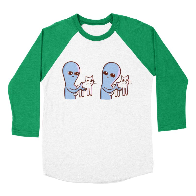 STRANGE PLANET SPECIAL PRODUCT: VIBRATING IN RUSSIAN Women's Baseball Triblend Longsleeve T-Shirt by Nathan W Pyle