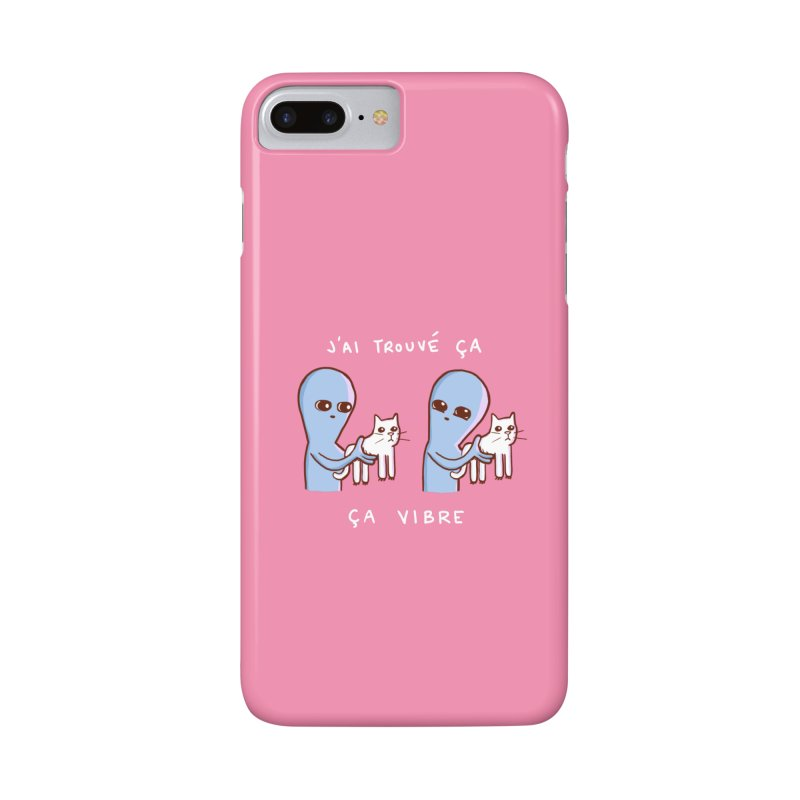 STRANGE PLANET SPECIAL PRODUCT: VIBRATING IN FRENCH Accessories Phone Case by Nathan W Pyle