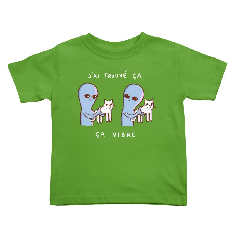 STRANGE PLANET SPECIAL PRODUCT: VIBRATING IN FRENCH Kids Toddler T-Shirt by Nathan W Pyle